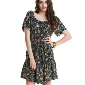 French Connection Women's silk floral dress
